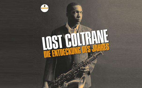 John Coltrane, Lange verschollen - gewinnen Sie ein Poster zum wiederentdeckten Coltrane-Album