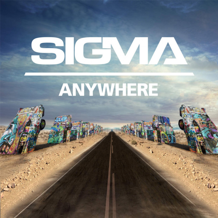 Sigma - Anywhere Single Cover