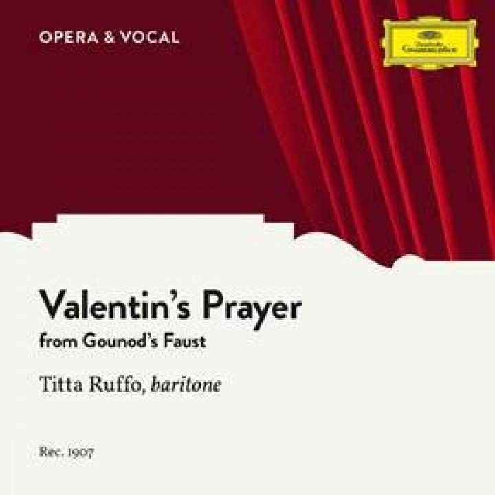 Gounod: Faust, CG 4, Valentin's Prayer (Dio possente, Dio d'amor)