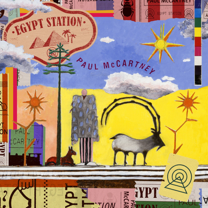Paul McCartney - Egypt Station - Cover - 2018