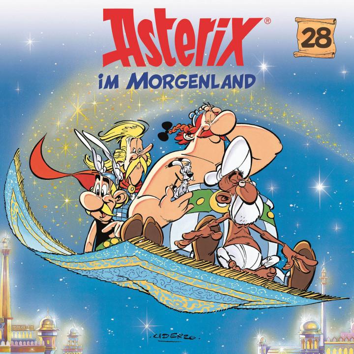 28: Asterix im Morgenland