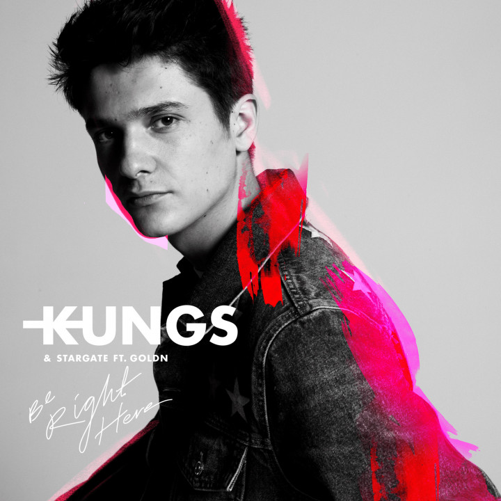 Kungs Be Right Here Cover