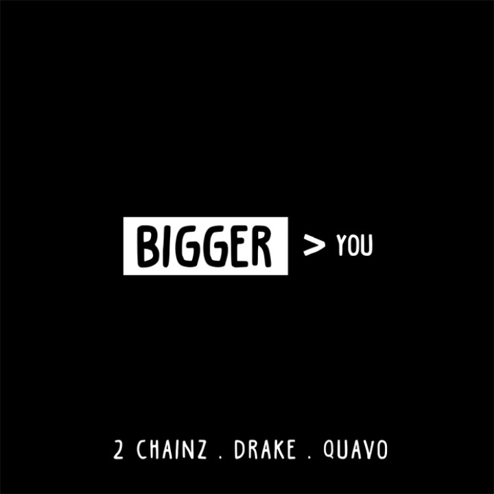 2 Chainz - Bigger Than You Single Cover
