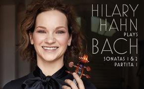 Hilary Hahn, Inniges Bekenntnis - Für ihr Decca-Debüt hat Hilary Hahn drei zentrale Solo-Werke von Johann Sebastian Bach ausgewählt
