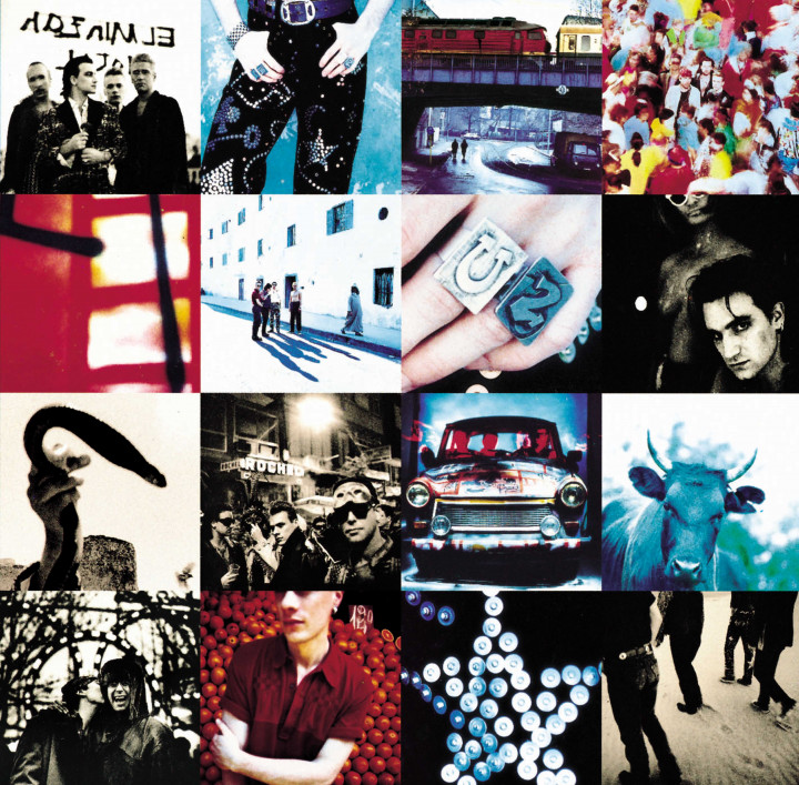 Achtung Baby - Cover - U2