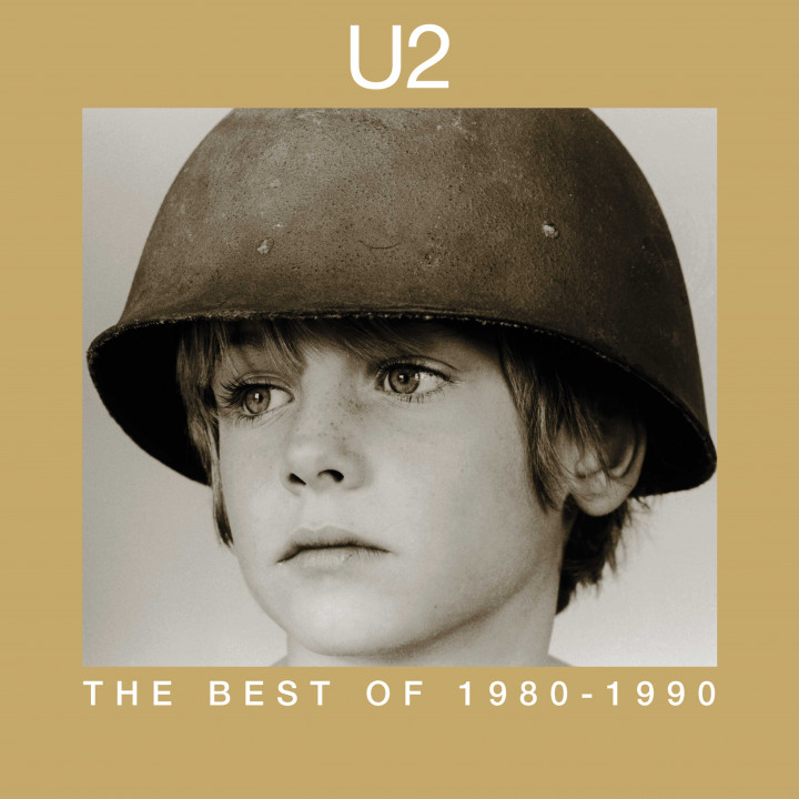 U2 - The Best Of 1980-1990 - Cover