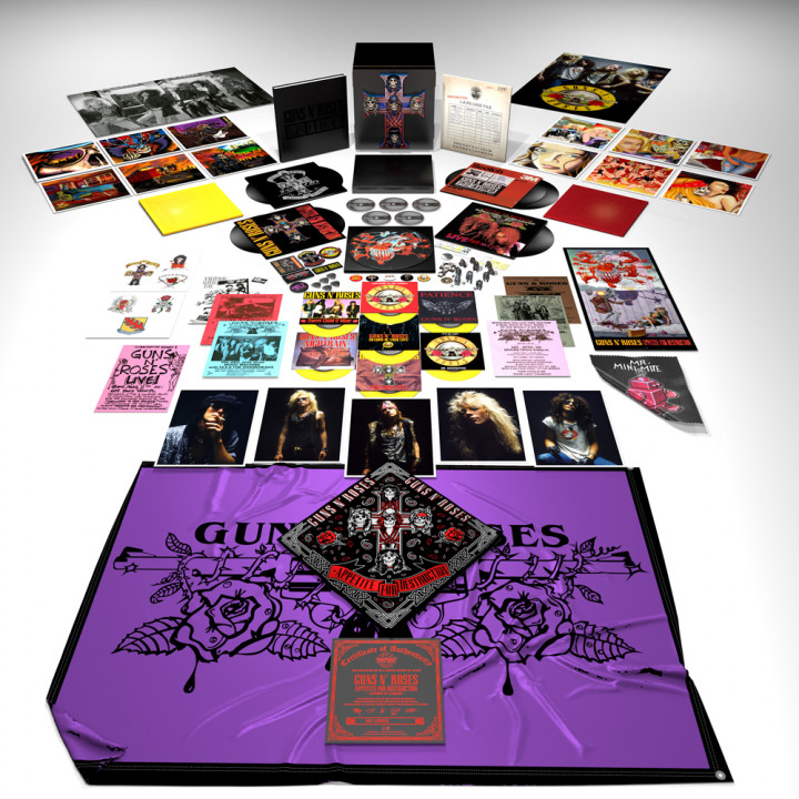 Guns'N'Roses - Appetite For Destruction - Limited Fan Box