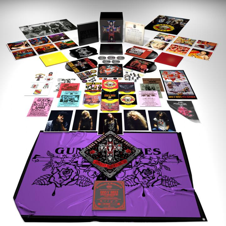 Guns'N'Roses - Appetite For Destruction - Limited Fan Box