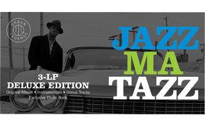 JazzEcho-Plattenteller, Groove-Klassiker - Guru's Jazzmatazz Vol. 1 als Deluxe-LP
