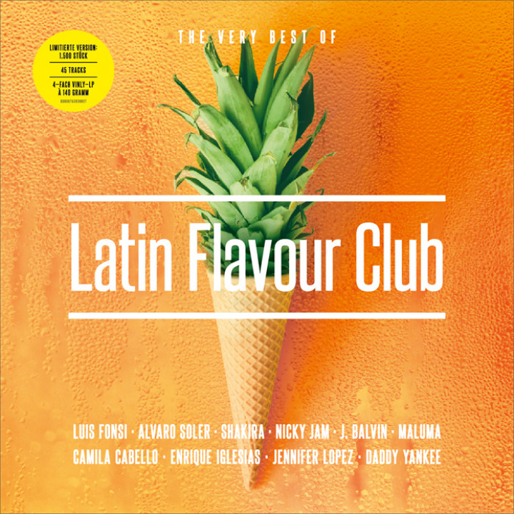 Latin Flavour Club LP Cover