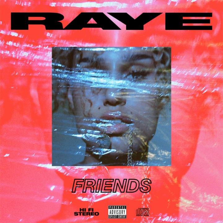 RAYE Friends Cover