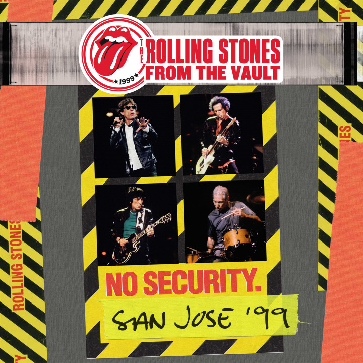 The Rolling Stones - From The Vault: No Security San Jose 1999 - Cover CD LP