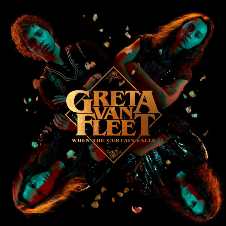 Greta Van Fleet - When The Curtain Falls - Cover 2018