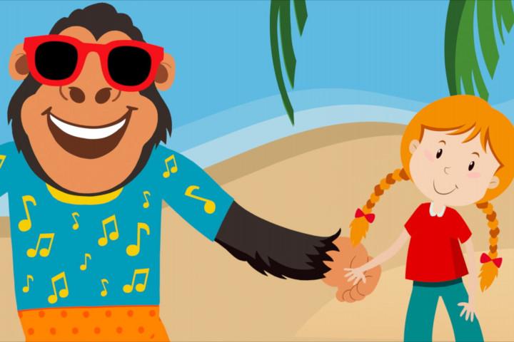Der Gorilla mit der Sonnenbrille Screencapture Volker Rosin