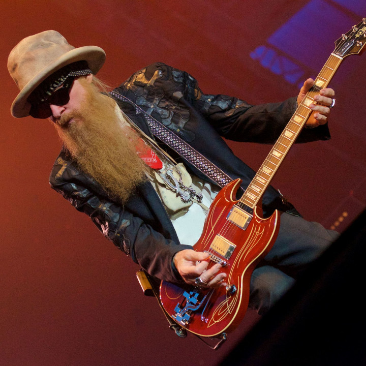 Billy F Gibbons 2018 – Bild 2