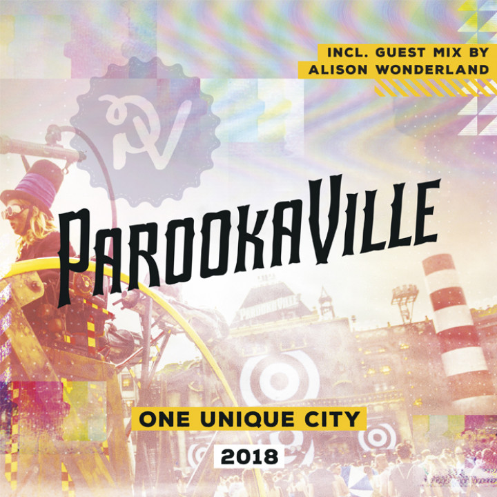 ParookaVille 2018 Compilation Cover