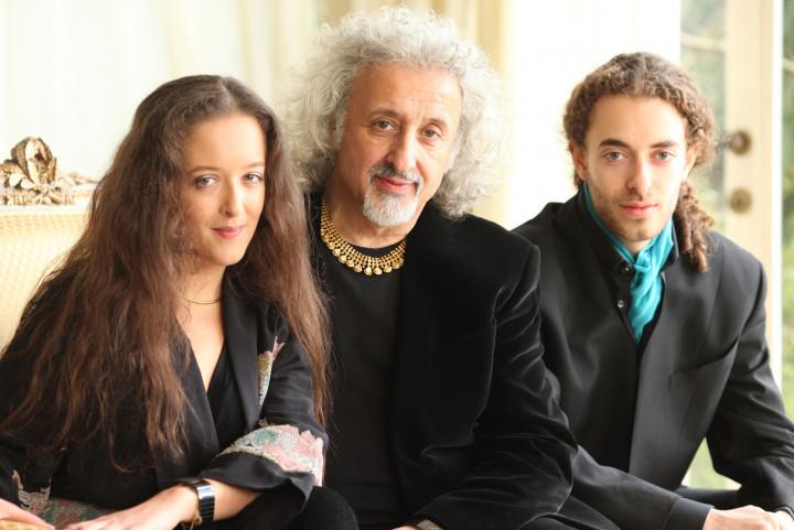 Lily, Mischa und Sascha Maisky