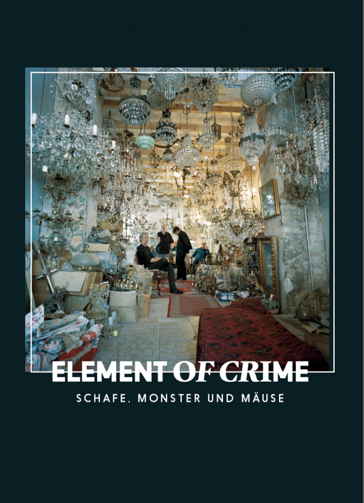 Element Of Crime - Schafe, Monster & Mäuse Songbook Cover - 2018