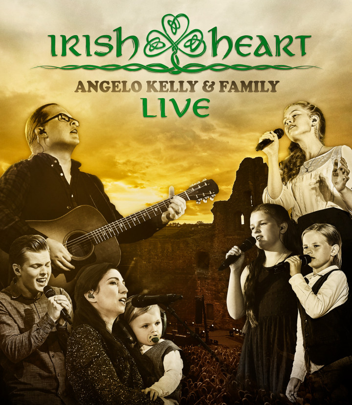 Angelo Kelly & Family - Irish Heart Live - Blu Ray