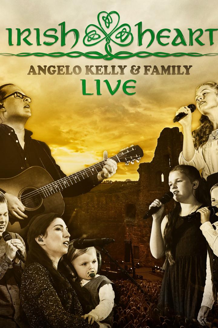 Angelo Kelly & Family - Irish Heart Live - Blu Ray