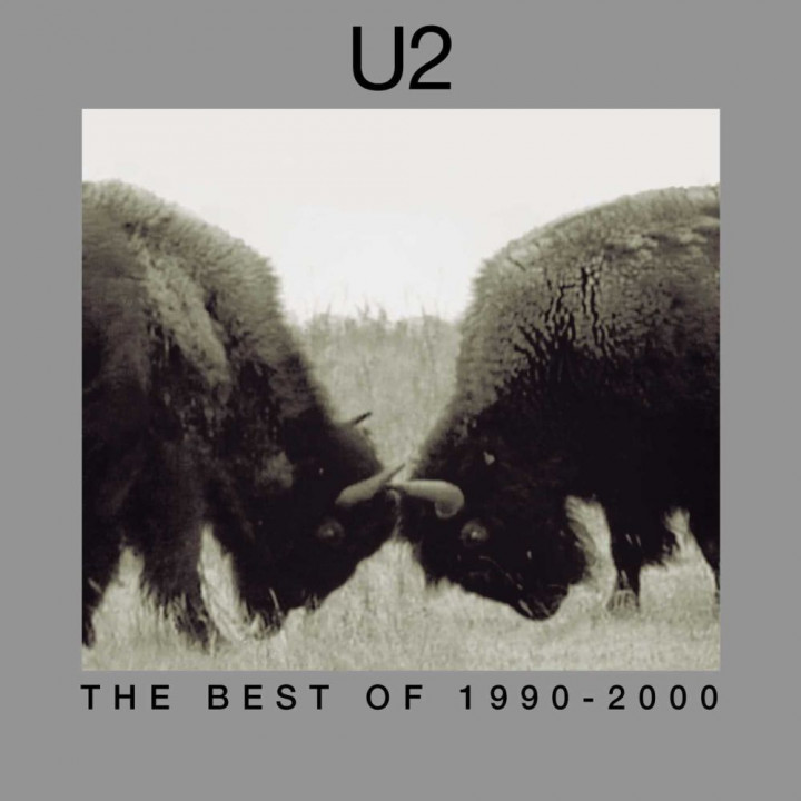 U2 - The Best Of 1990 - 2000 - Cover