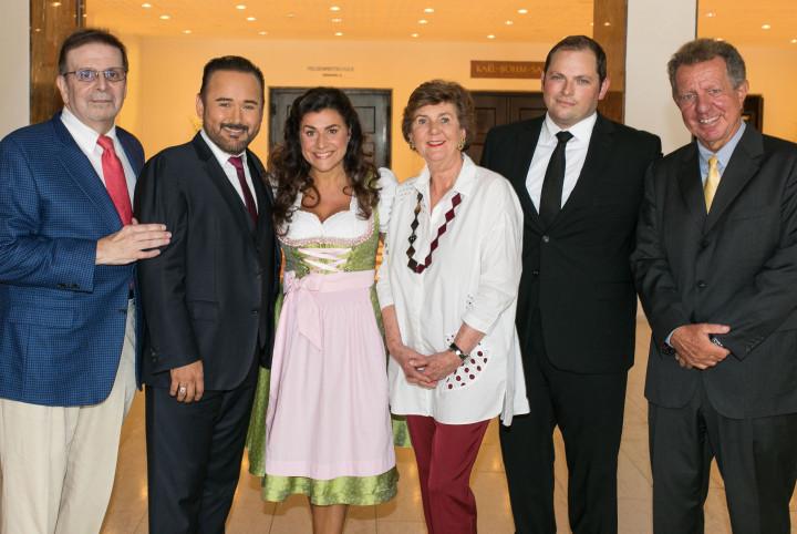 Jack Mastroianni, Javier Camarena, Cecilia Bartoli, Helga Rabl-Stadler, Alexander Buhr, Costa Pilavachi