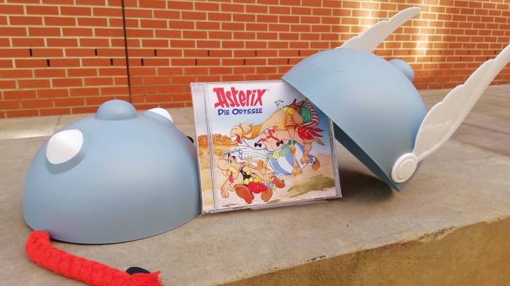 Asterix 26 die Odyssee Helme gewinnspiel