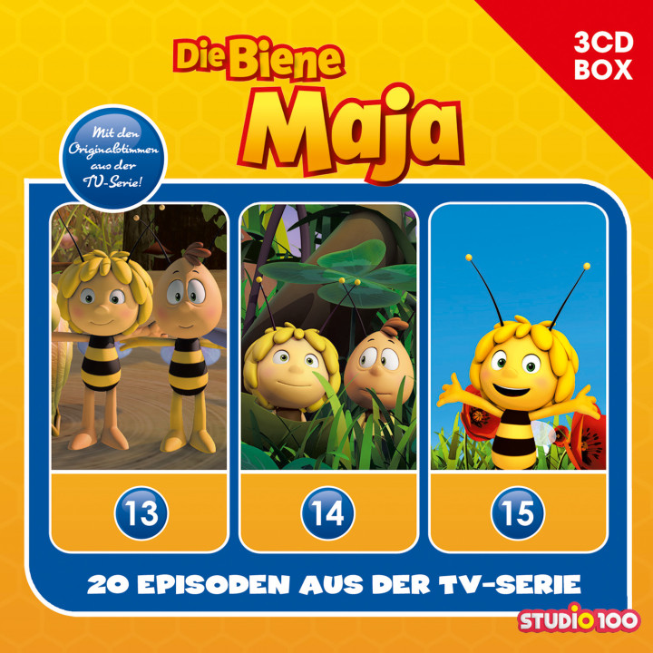 Biene Maja CGI Box 5 Cover