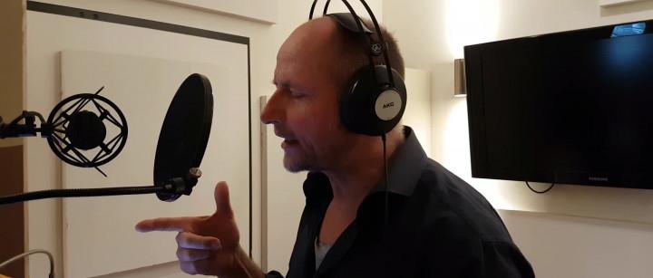 Im Studio mit Achim Buch