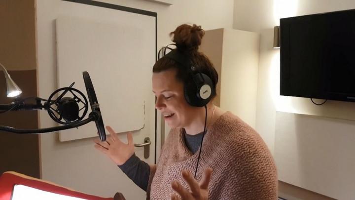 Im Studio mit Jennifer Böttcher