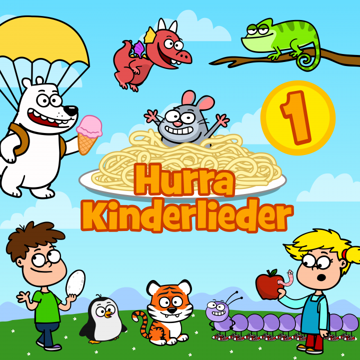Hurra Kinderlieder 1 Cover