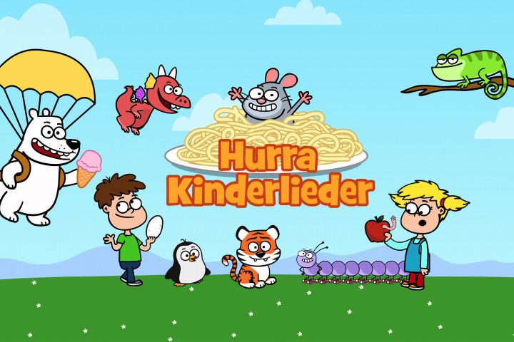 Hurra Kinderlieder Header + Newsbild