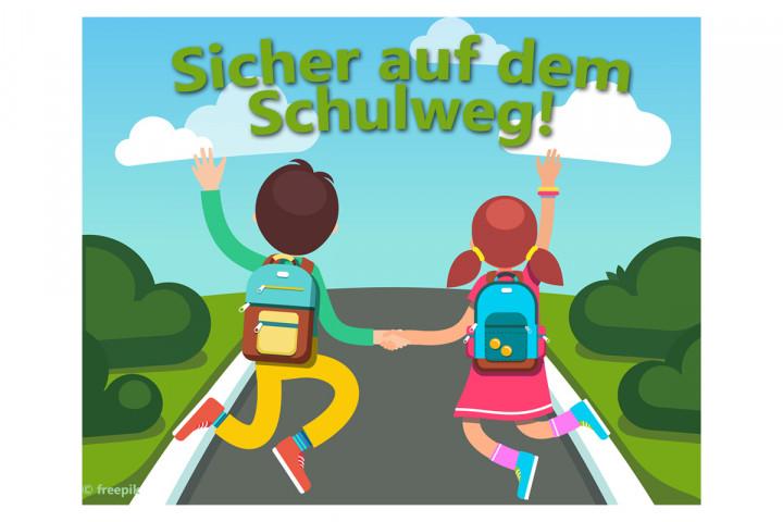 Sicher auf dem Schulweg