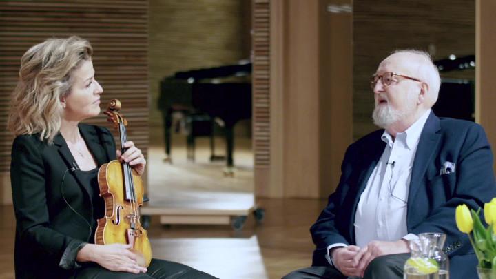 """Anne-Sophie Mutter & Krzysztof Penderecki über """"Metamorphosen"""""""