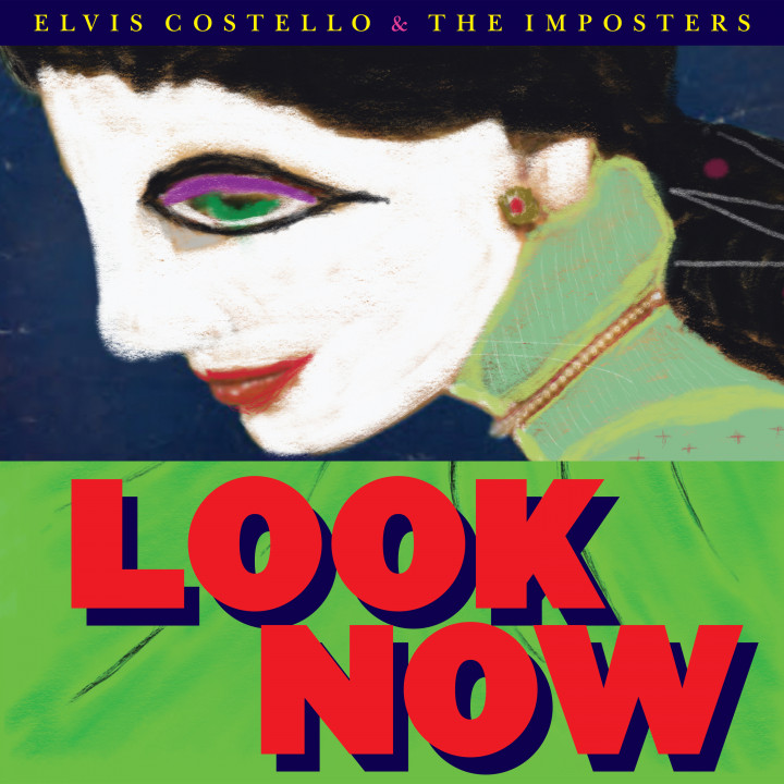 Elvis Costello Look Now Cover