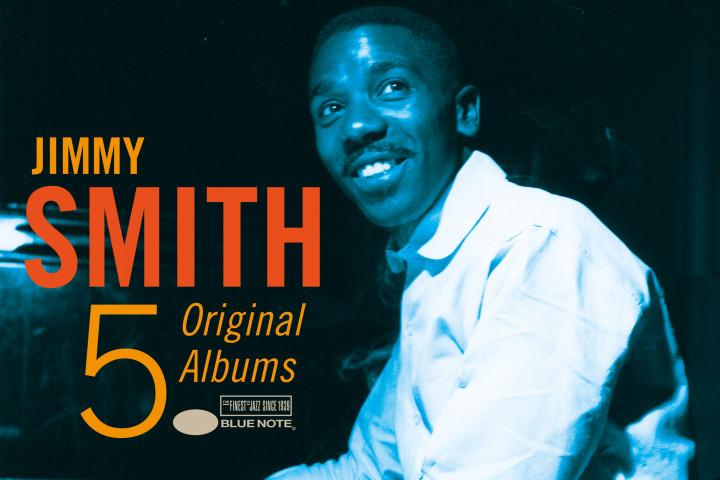 5 Original Albums - Jimmy Smith