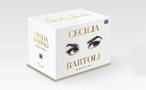 Cecilia Bartoli, Rossini voller Authentizität, Leidenschaft und Perfektion - Mit einer limitierten Jubiläumsedition feiert Decca die Ausnahme-Mezzosopranistin Cecilia Bartoli