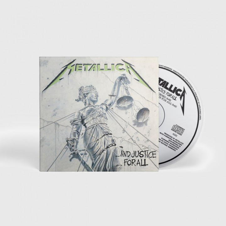 Justice for All CD