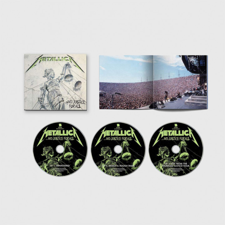 Metallica - And Justice For All Set