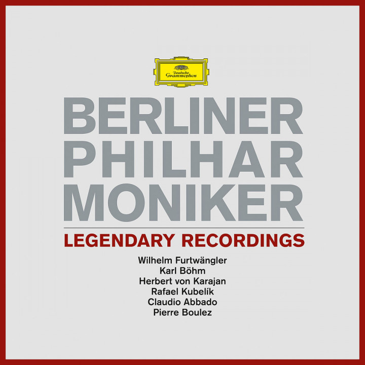 Berliner Philharmoniker Legendary Rec. (Ltd. Edt.)