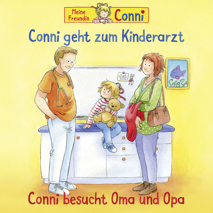 58: Conni geht zum Kinderarzt (neu) / Oma und Opa