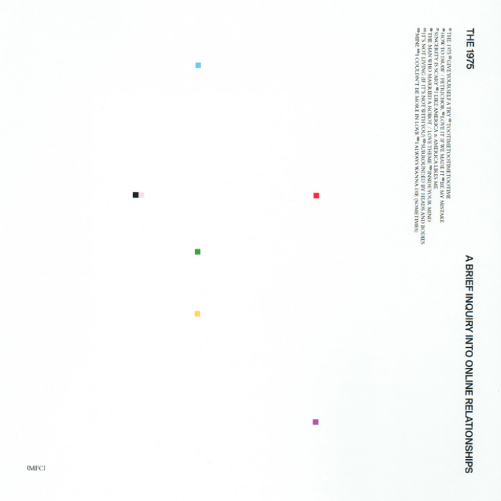 The 1975 - A Brief Inquiry Into Online Relationships Cover