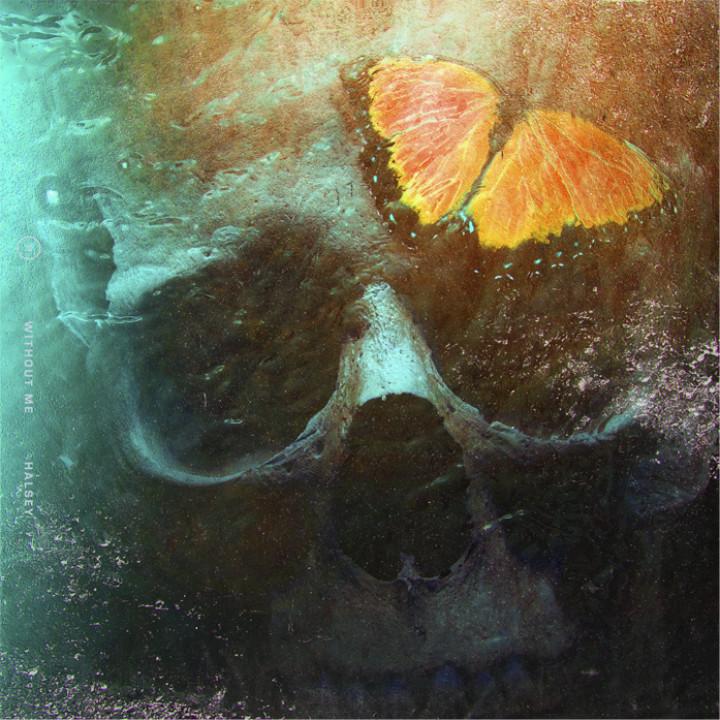 Halsey - Without Me Single Cover