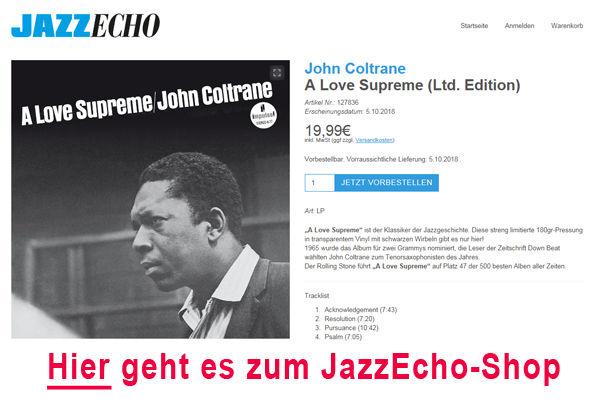 John Coltrane, Shoplink - John Coltrane