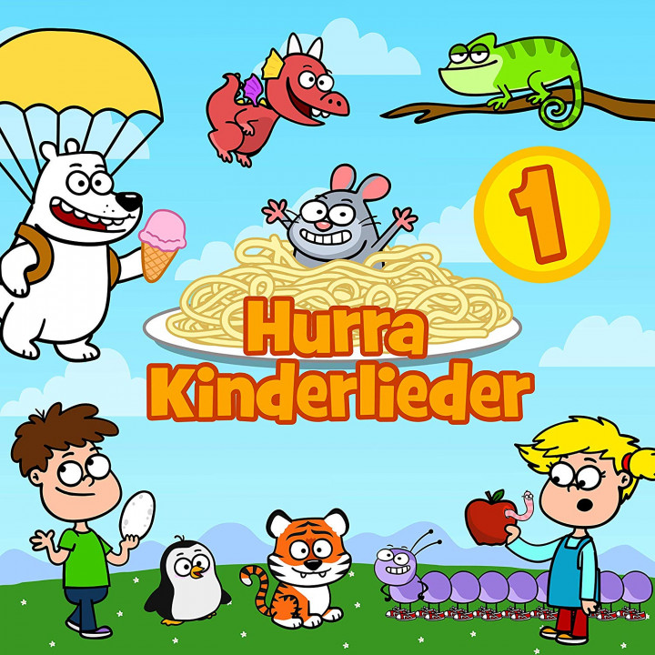 Hurra Kinderlieder 1 (Cover)