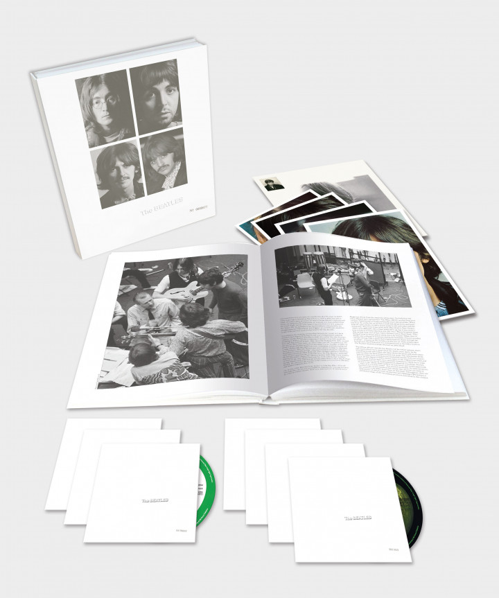 White Album_The Beatles_7 Disc