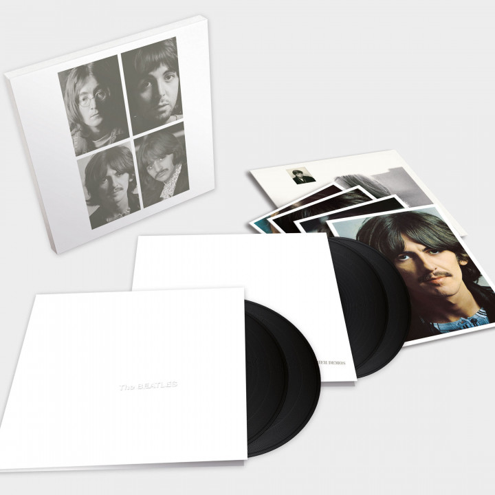 White Album_The Beatles_4LP