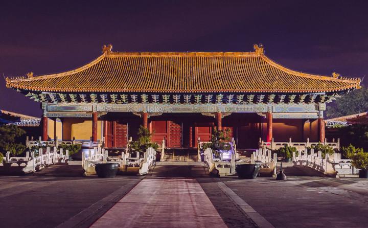 Verbotene Stadt - Kaiserlicher Ahnentempel Taimiao