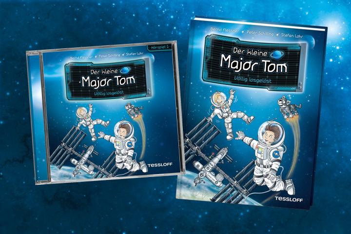 Gewinnspiel der kleine Major Tom Oktober