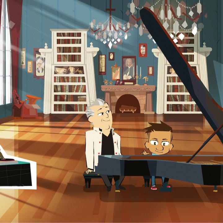 Max & Maestro, Daniel Barenboim